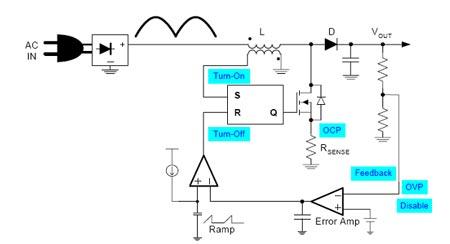 Схема корректора мощности на микросхемах L656x