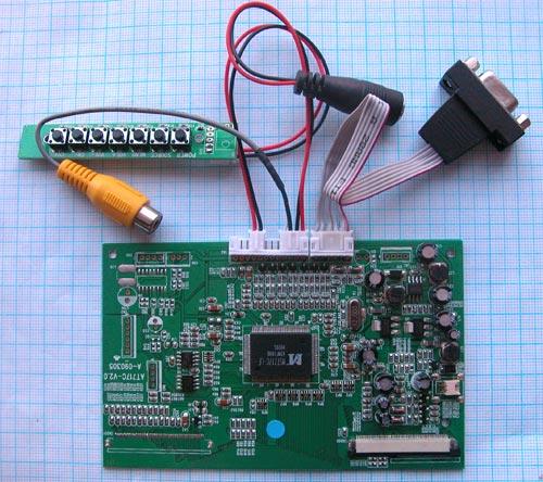 Схема подключения кабелей