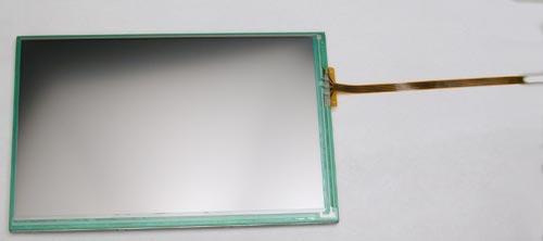 Внешний вид сенсорной панели