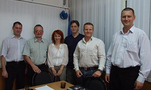 Участники мини-семинара по светодиодам Osram