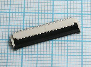Разъёмы для шлейфов графических и символьных индикаторов, OLED индикаторов, TFT дисплеев, индикаторов COG и COF