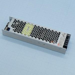 UHP-350-24, AC-DC, 350.4Вт, вход 90…264В AC, 47…63Гц, выход 24В/14.6A, ККМ, рег. вых 22.8…25.2В, изоляция 3750В AC, в кожухе 220х62х31мм, -30…+70°С