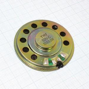 Капсюль динTRI-50N-C 50 Ом 0.5Вт, динамик ШП купить оптом и в розницу