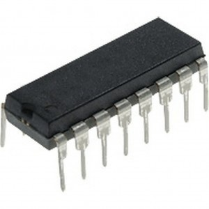 ULN2004AN, Набор ключей x 7  50V  0.35A  Interfaces: 6–15V CMOS, PMOS